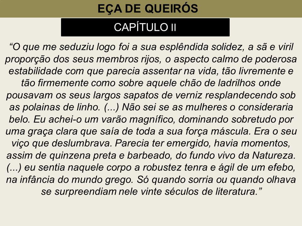 EÇA DE QUEIRÓS CAPÍTULO II