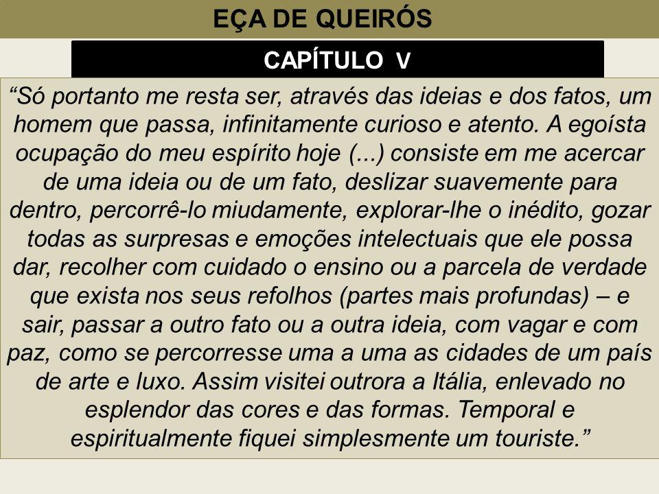 EÇA DE QUEIRÓS CAPÍTULO V