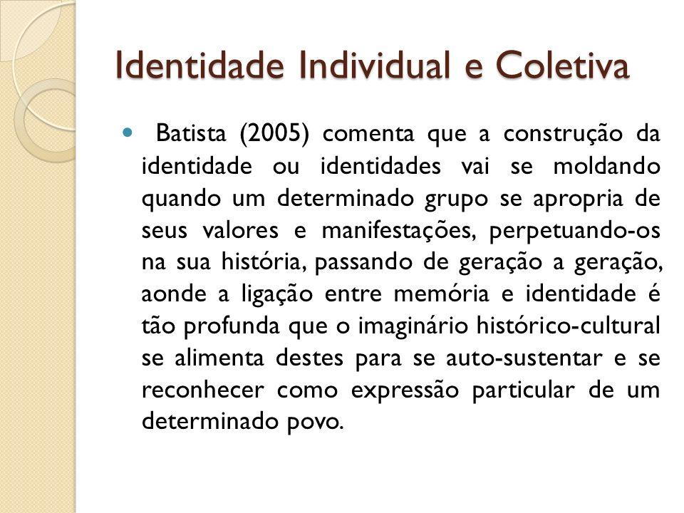 Identidade Individual e Coletiva