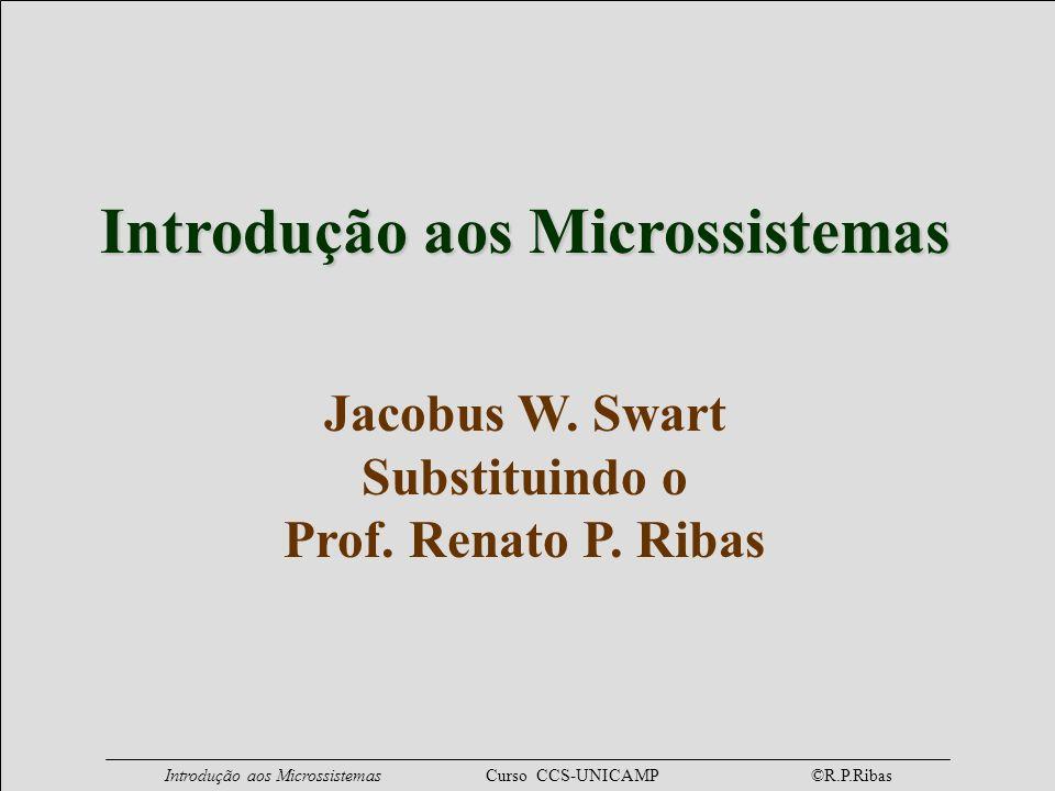 Introdução aos Microssistemas