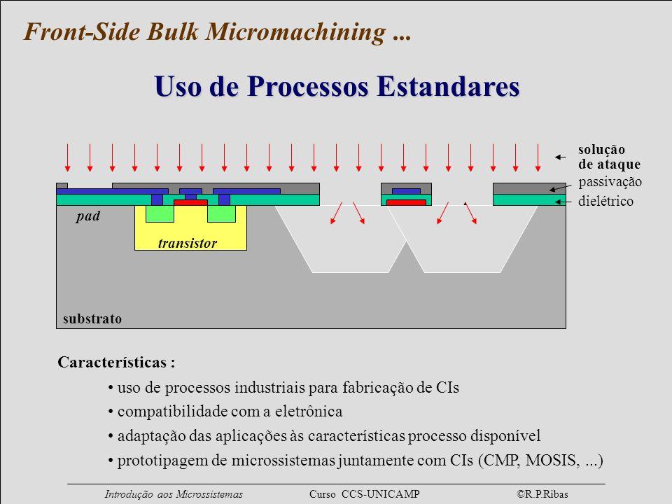 Uso de Processos Estandares