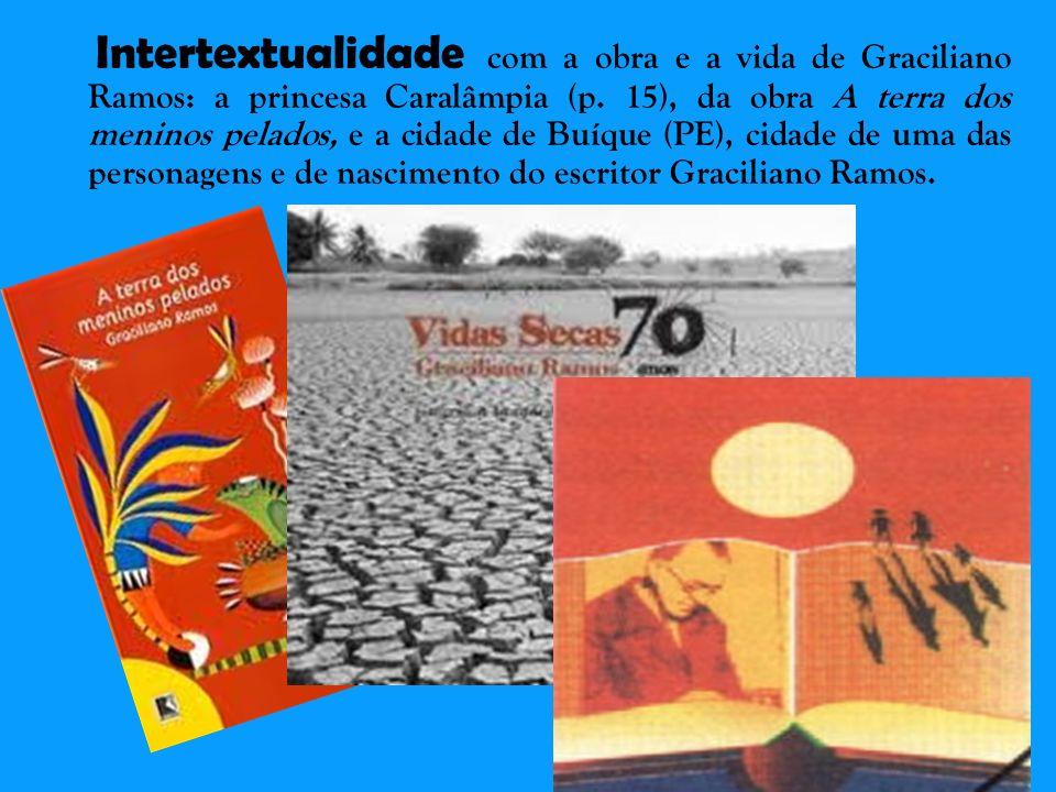 Intertextualidade com a obra e a vida de Graciliano Ramos: a princesa Caralâmpia (p.