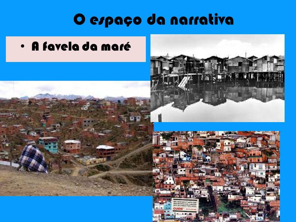 O espaço da narrativa A favela da maré