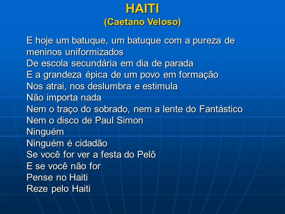 HAITI (Caetano Veloso)