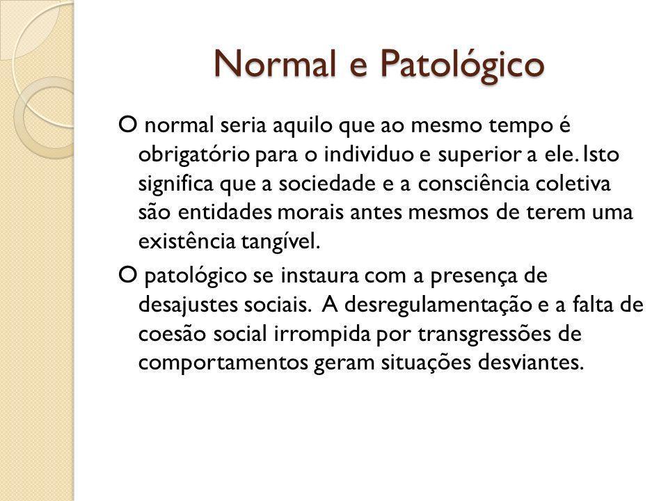 Normal e Patológico
