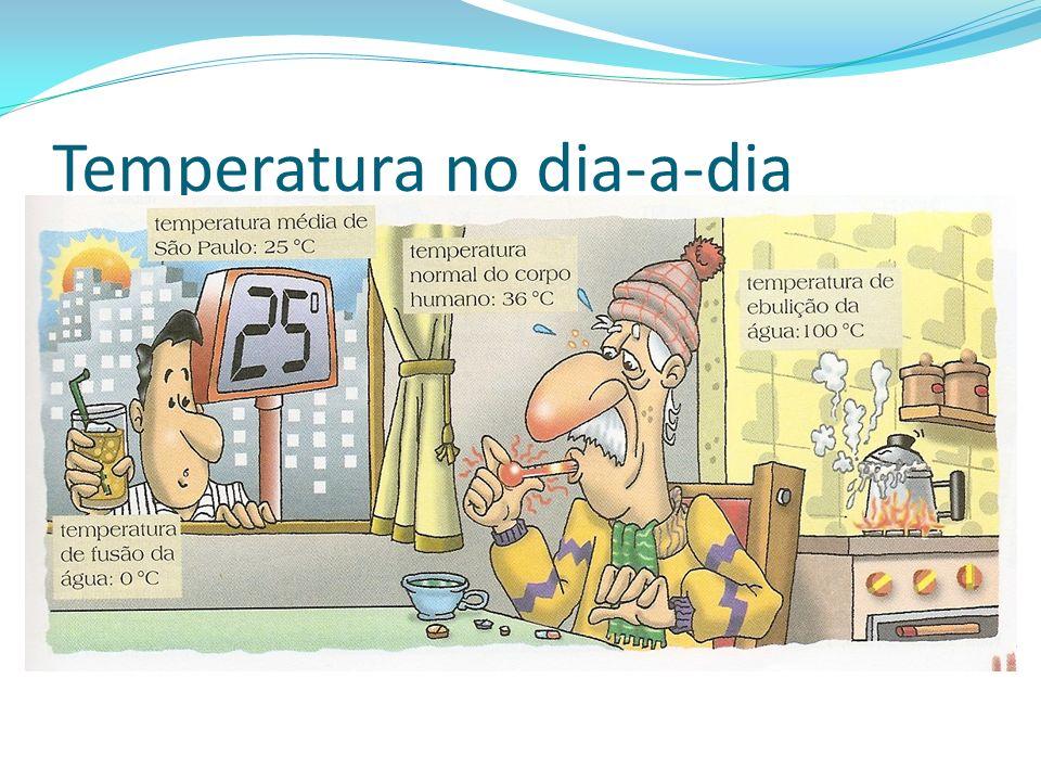 Temperatura no dia-a-dia