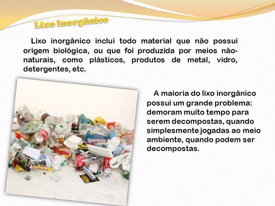 Lixo Inorgânico