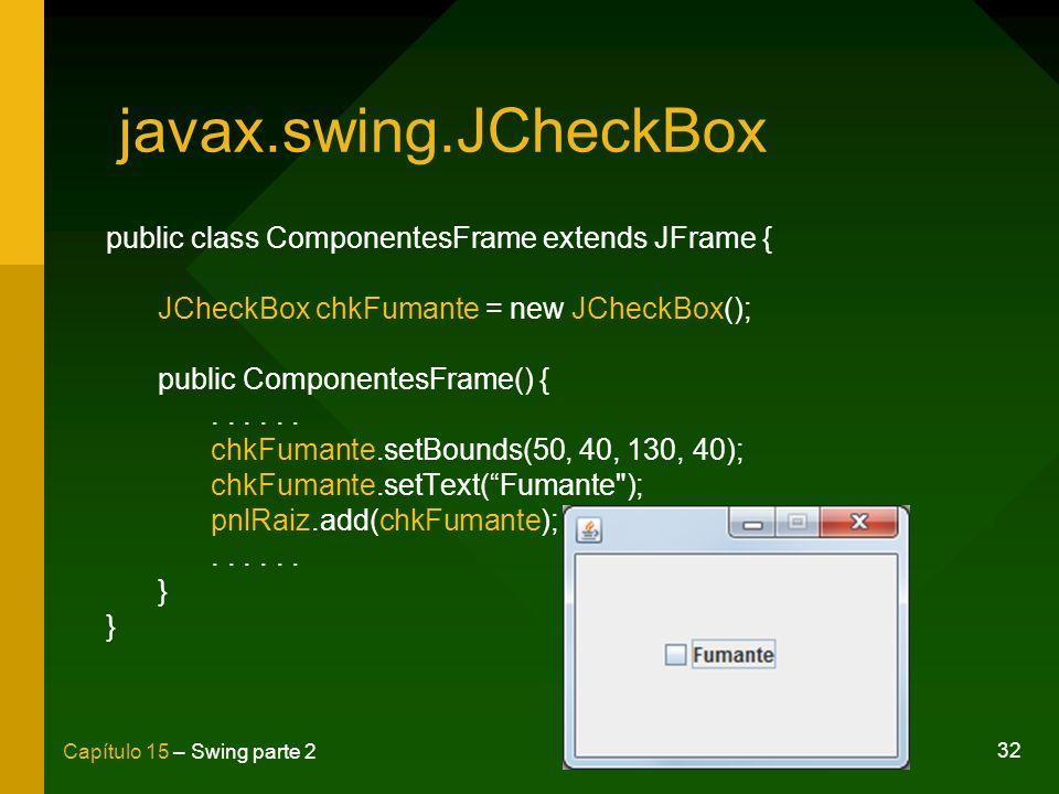 javax.swing.JCheckBox