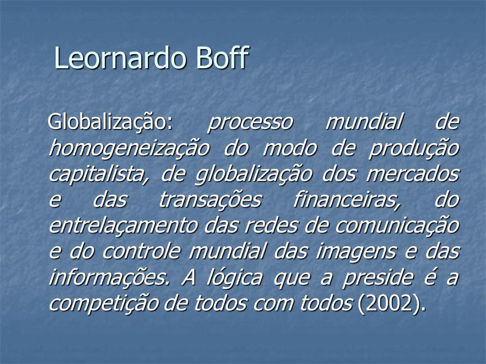Leornardo Boff