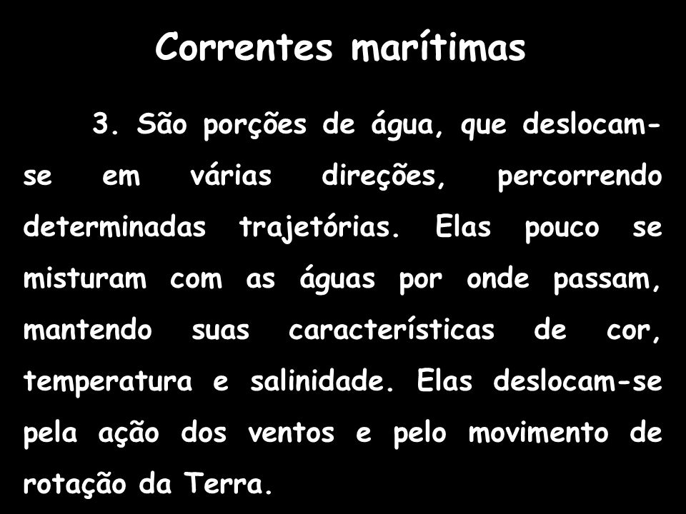 Correntes marítimas