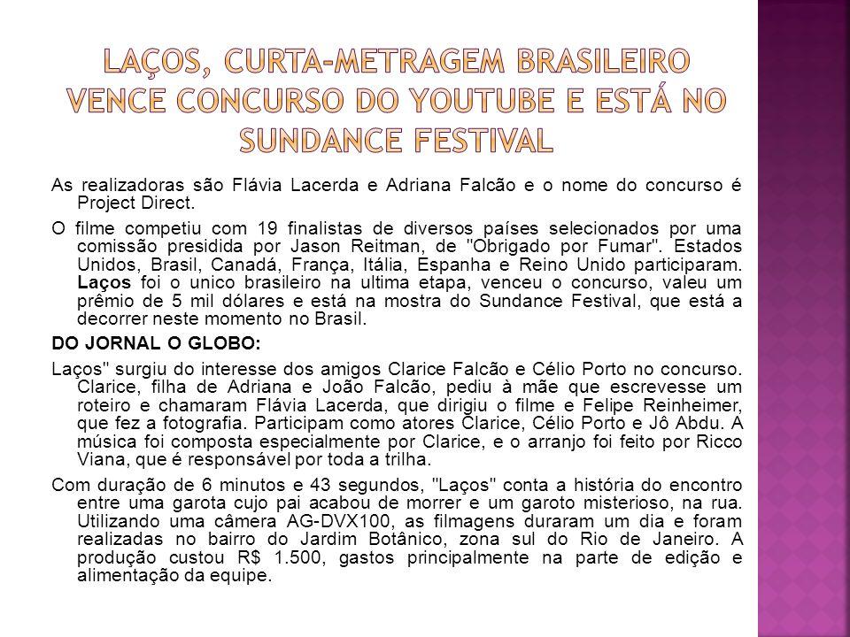 Laços, curta-metragem brasileiro vence concurso do Youtube e está no Sundance Festival