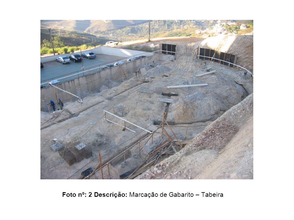 Foto nº: 2 Descrição: Marcação de Gabarito – Tabeira