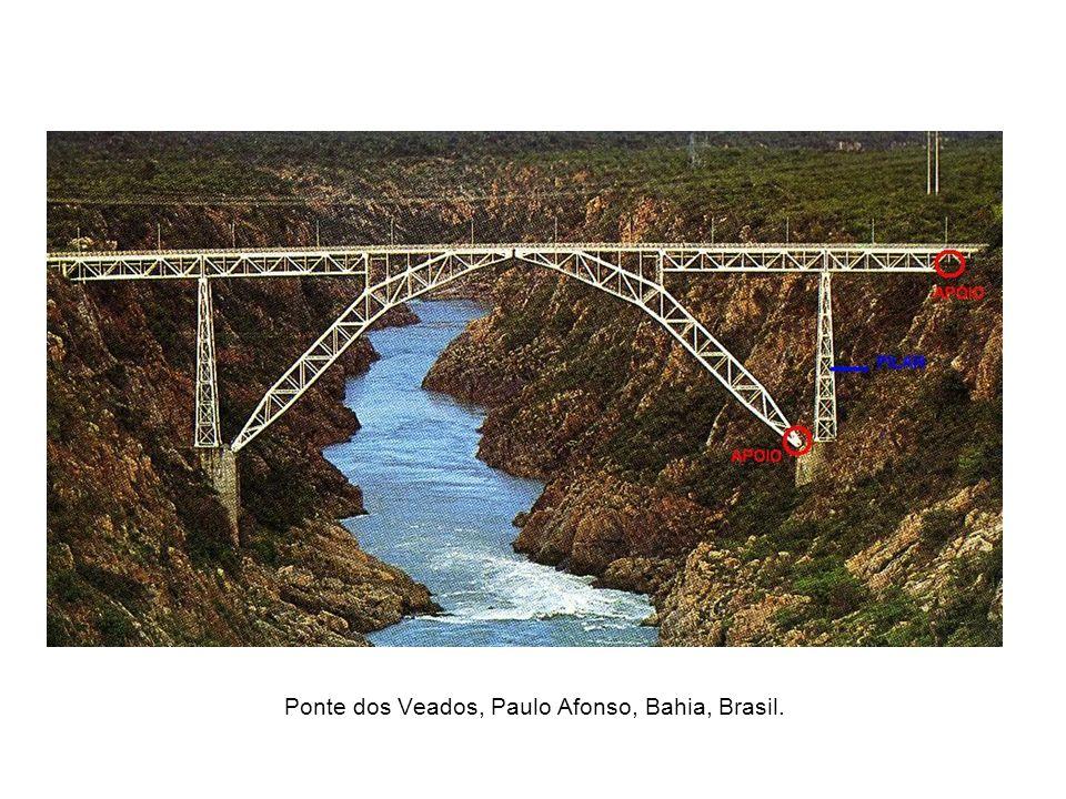 Ponte dos Veados, Paulo Afonso, Bahia, Brasil.
