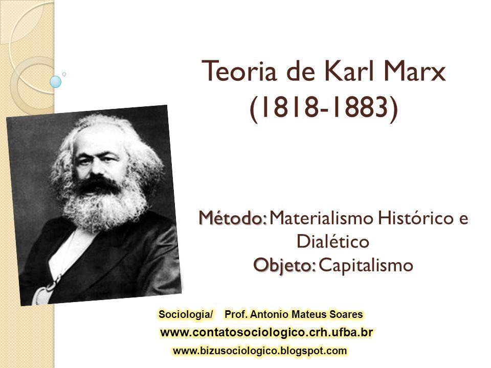Sociologia/ Prof. Antonio Mateus Soares
