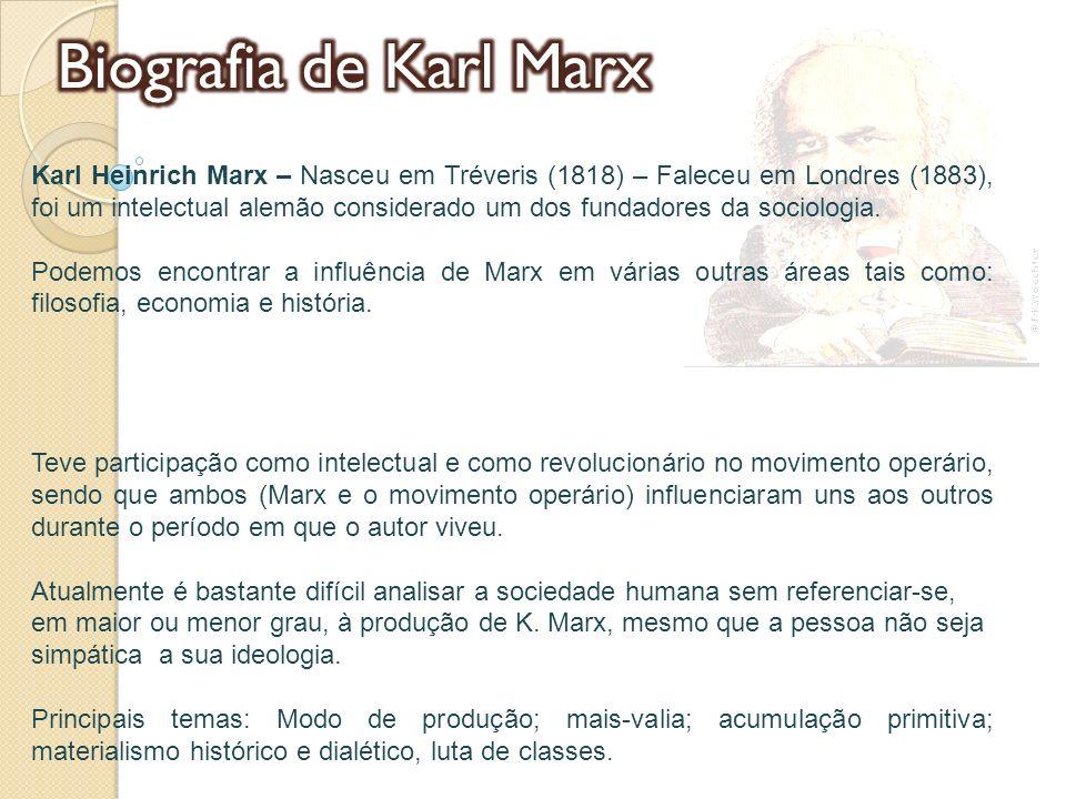 Biografia de Karl Marx