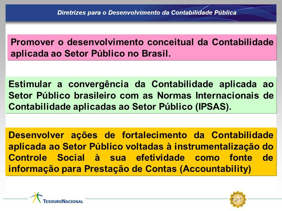 Diretrizes para o Desenvolvimento da Contabilidade Pública