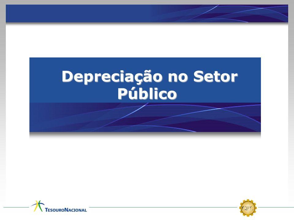 Depreciação no Setor Público