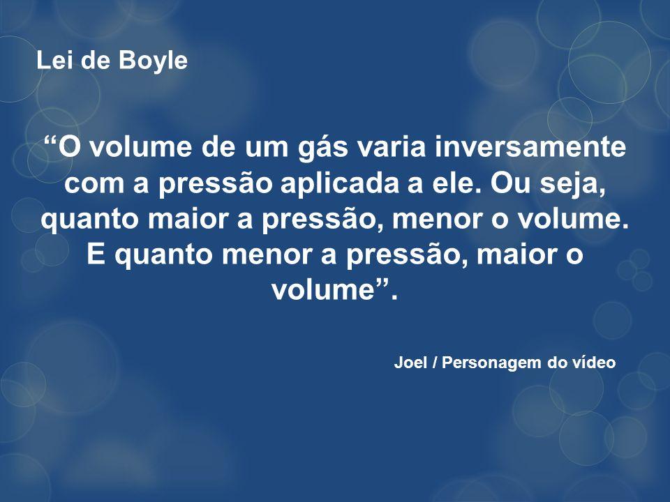 Lei de Boyle