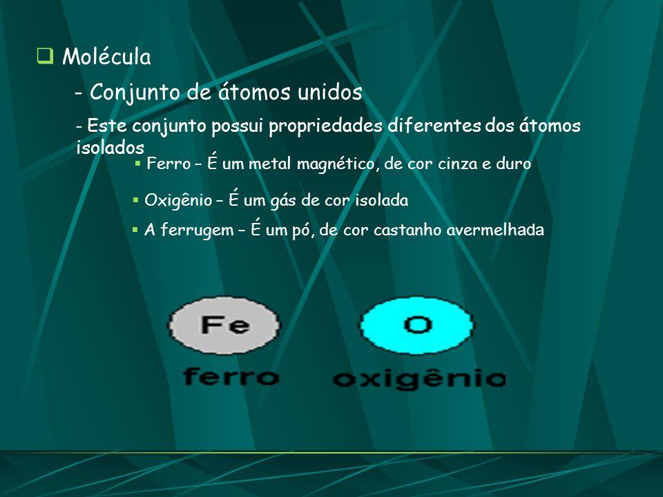 - Conjunto de átomos unidos