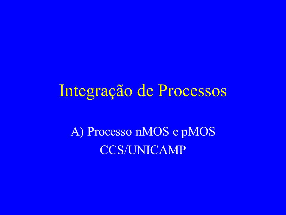 Integração de Processos