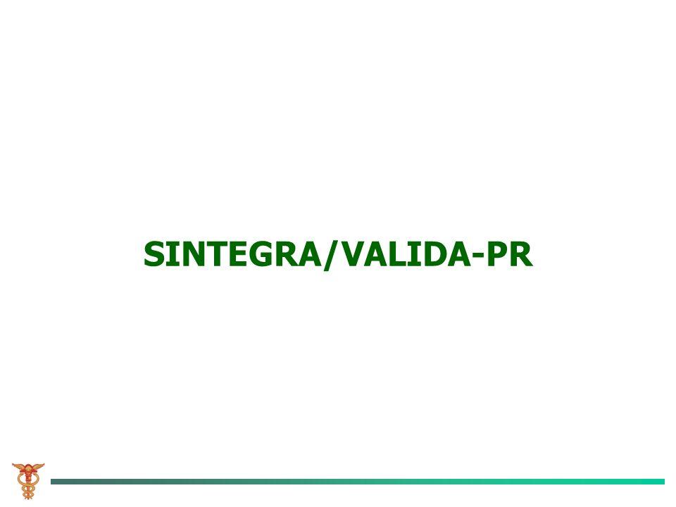 SINTEGRA/VALIDA-PR