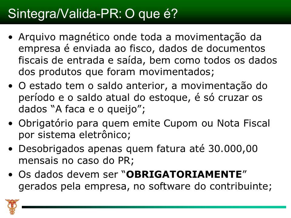 Sintegra/Valida-PR: O que é