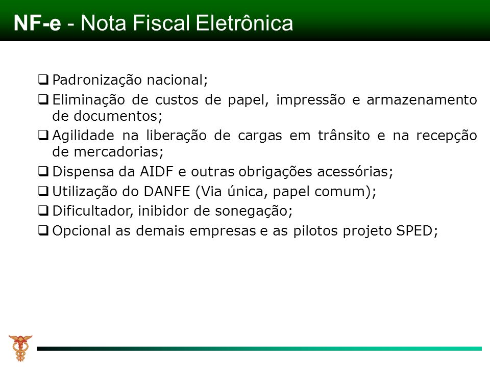 NF-e - Nota Fiscal Eletrônica