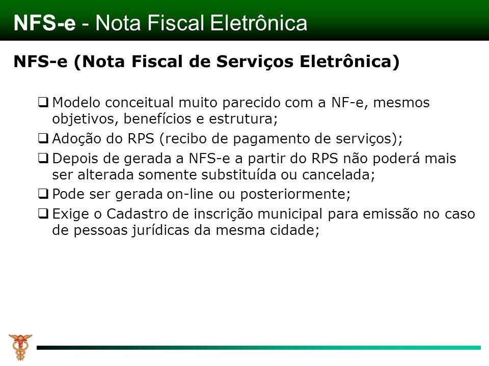 NFS-e - Nota Fiscal Eletrônica