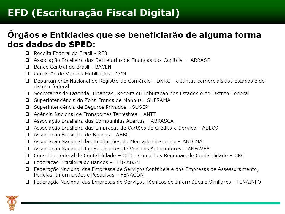 EFD (Escrituração Fiscal Digital)