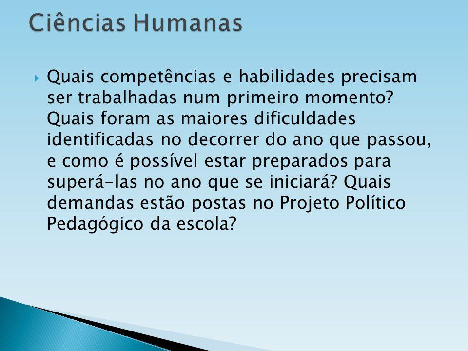 Ciências Humanas
