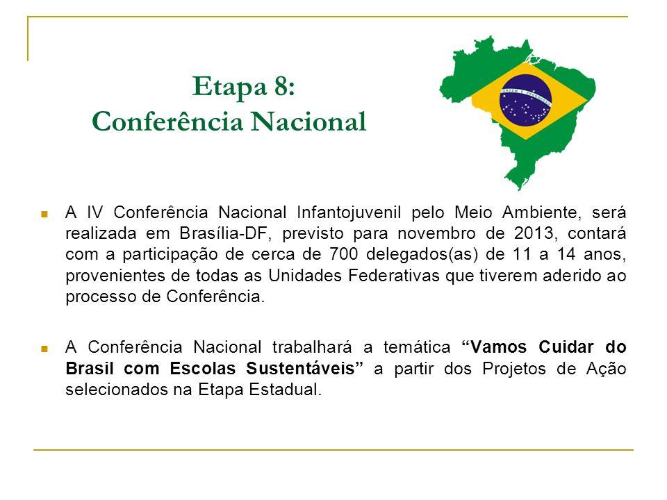 Etapa 8: Conferência Nacional