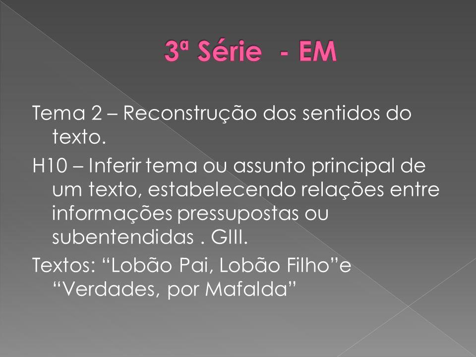 3ª Série - EM