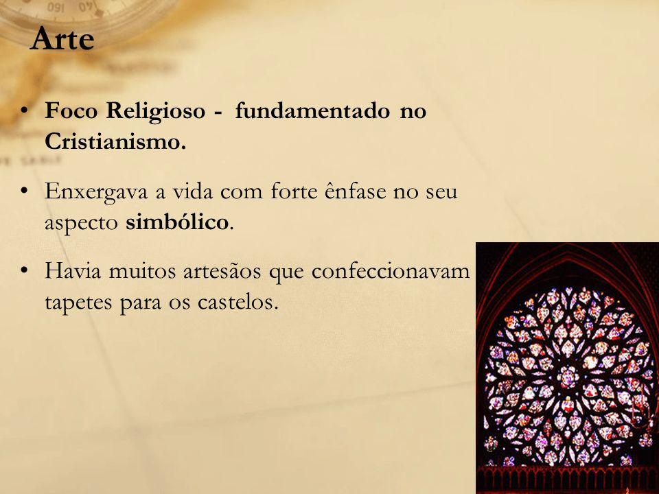 Arte Foco Religioso - fundamentado no Cristianismo.