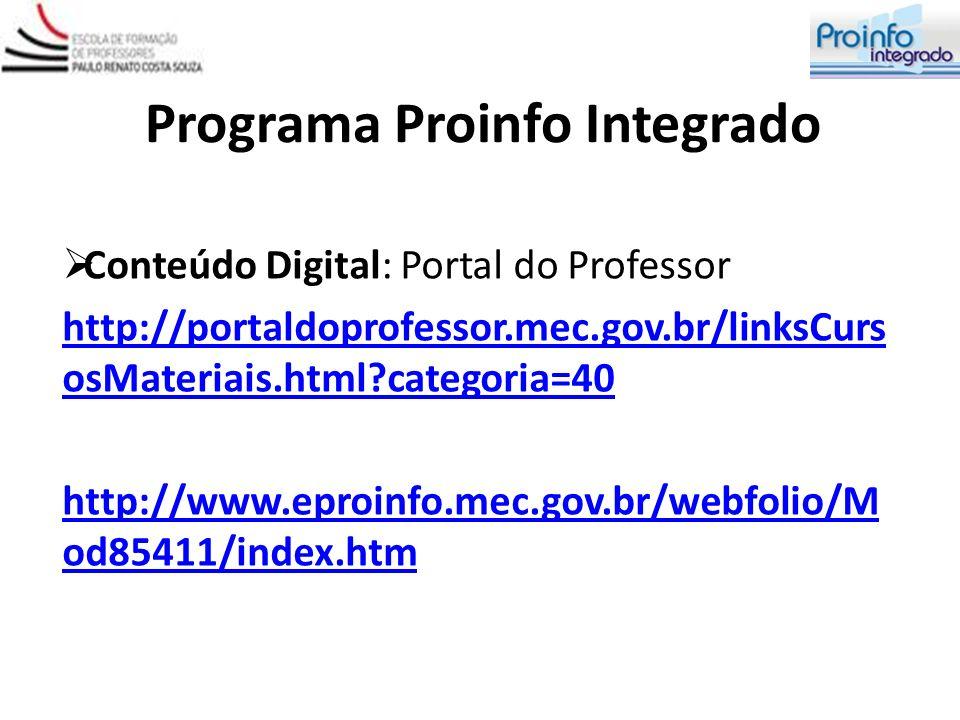 Programa Proinfo Integrado