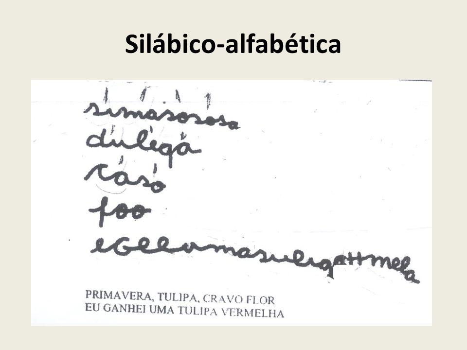 Silábico-alfabética