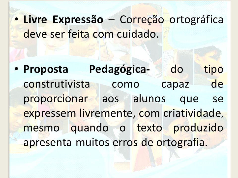 Livre Expressão – Correção ortográfica deve ser feita com cuidado.
