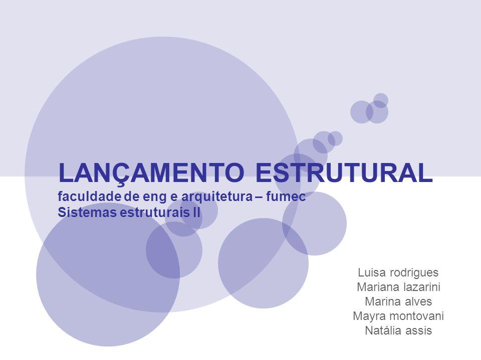 LANÇAMENTO ESTRUTURAL
