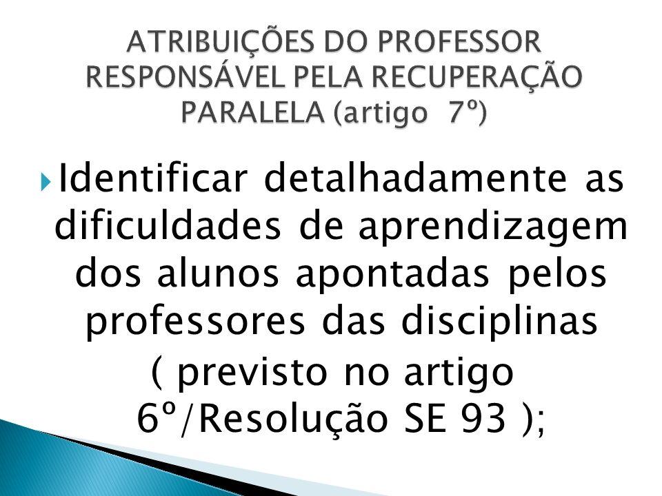 ( previsto no artigo 6º/Resolução SE 93 );