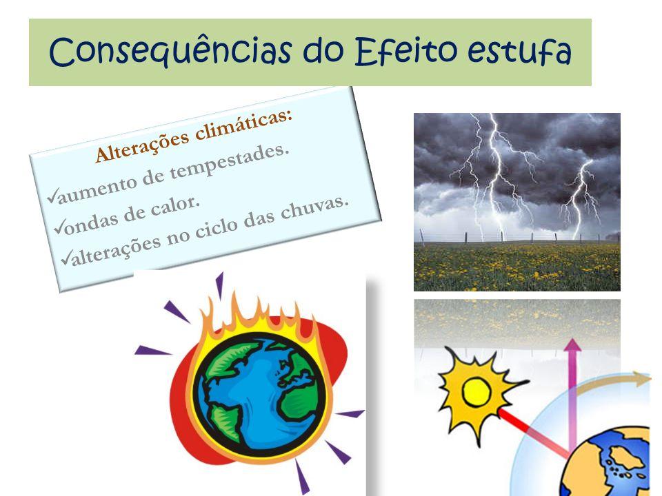 Alterações climáticas: