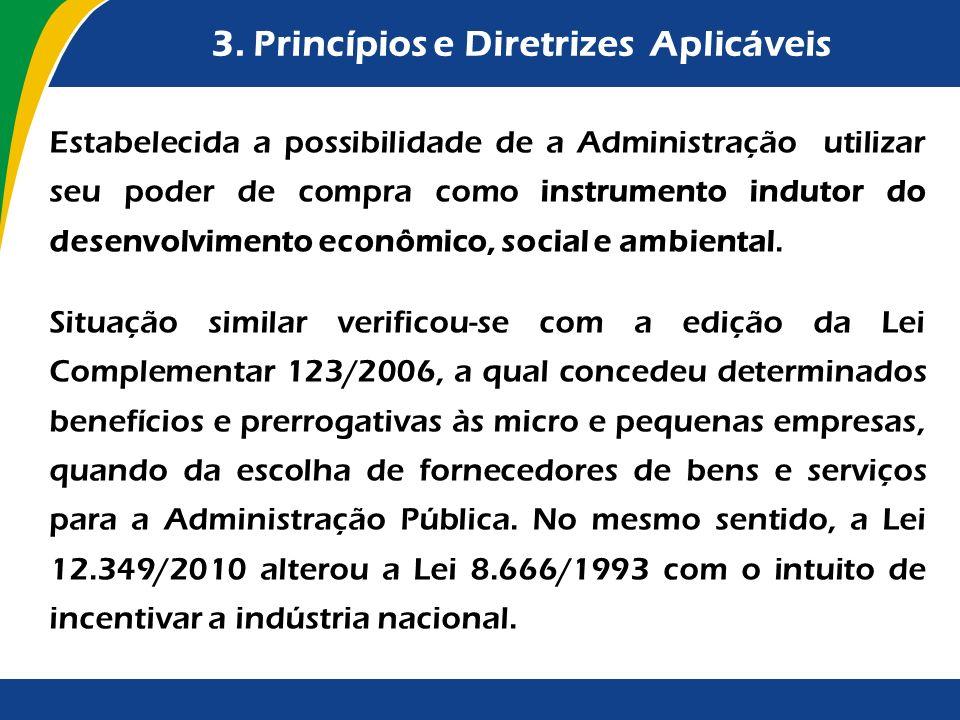 3. Princípios e Diretrizes Aplicáveis