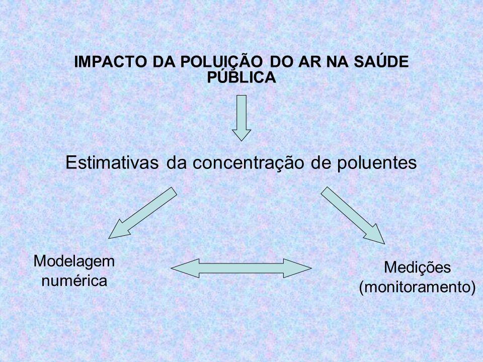 IMPACTO DA POLUIÇÃO DO AR NA SAÚDE PÚBLICA