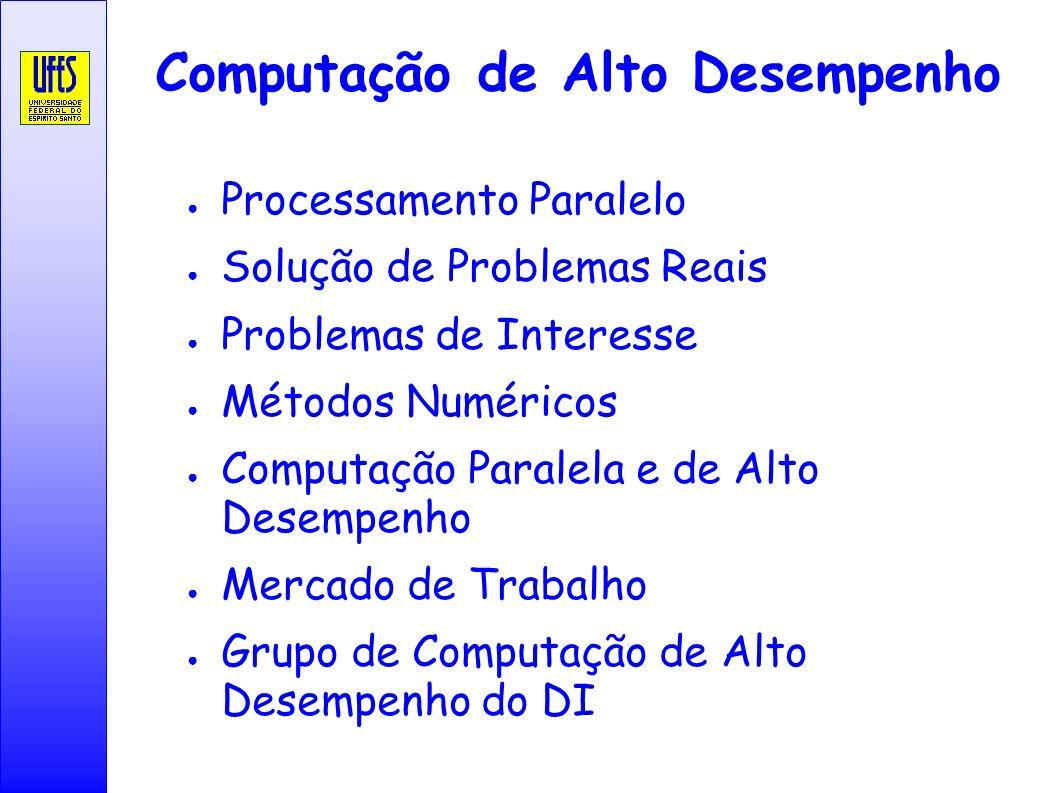 Aparador De Sala Mercado Livre ~ Computaç u00e3o de Alto Desempenho ppt carregar