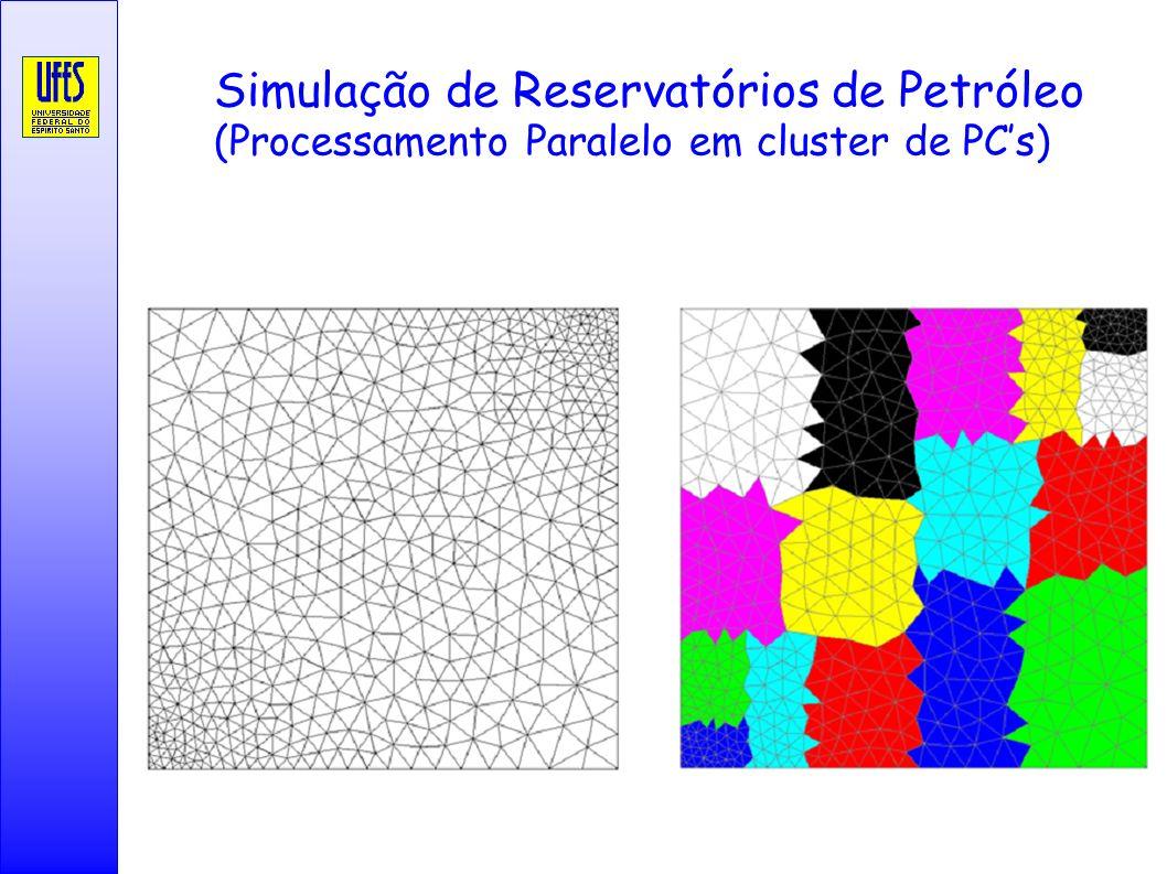 Simulação de Reservatórios de Petróleo (Processamento Paralelo em cluster de PC's)