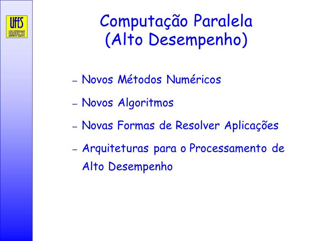 Computação Paralela (Alto Desempenho)