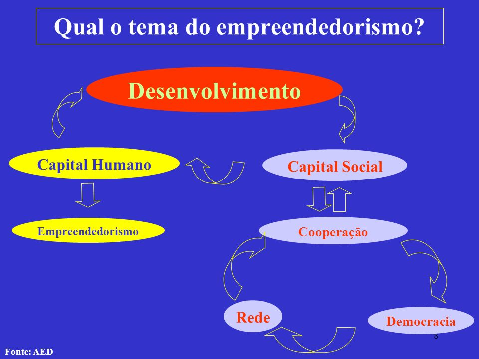 Qual o tema do empreendedorismo