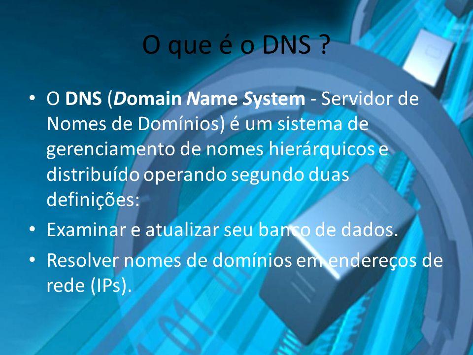 O que é o DNS