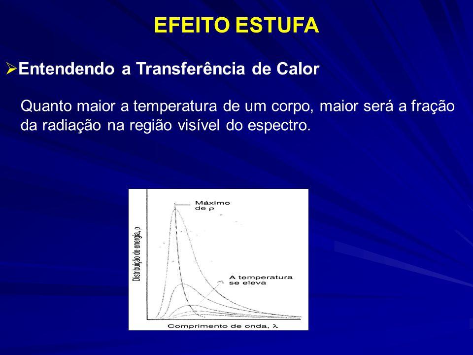 EFEITO ESTUFA Entendendo a Transferência de Calor