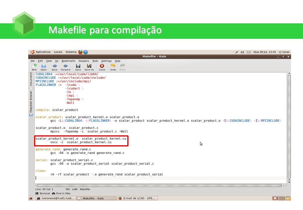 Makefile para compilação