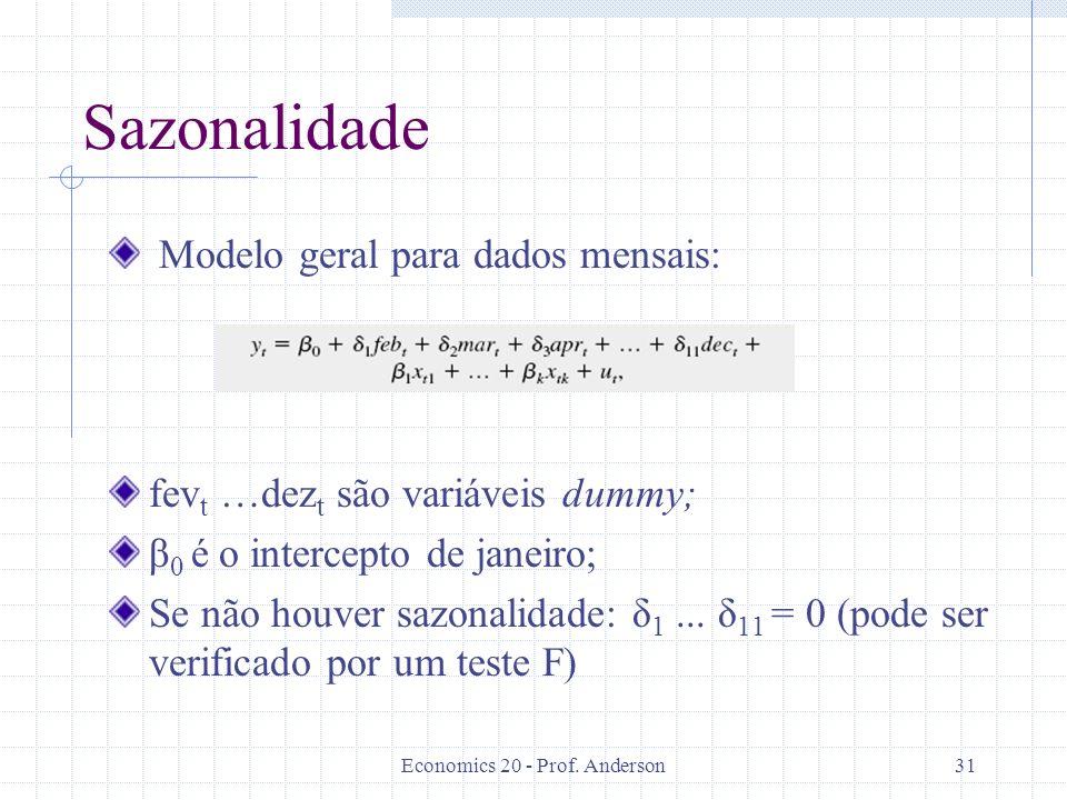 Economics 20 - Prof. Anderson