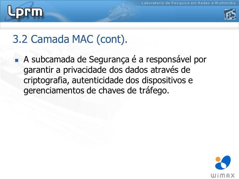 3.2 Camada MAC (cont).